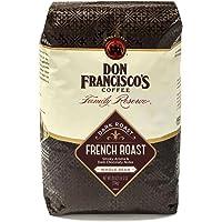 Don Francisco's法式深度烘焙全豆咖啡,纯阿拉比卡咖啡,28盎司