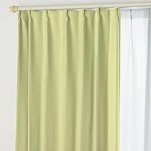 遮光窗帘A&蕾丝ST 01.幸运绿 幅150×丈105cm 4枚組 -