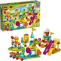 LEGO 乐高 Jahrmarkt Duplo 10840大型露天游乐场,多色