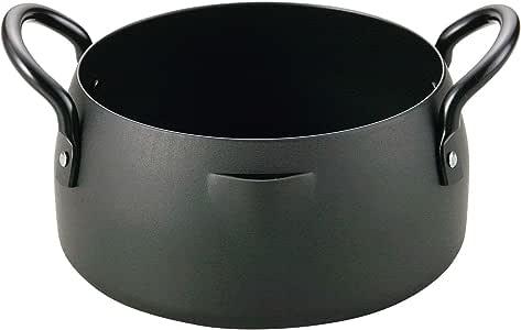 和平 Freiz 铁制 天妇罗锅 油炸锅 日本制造 匠弥 铁 16cm TY-042