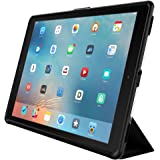OtterBox SYMMETRY 混合系列保护套适用于 iPad Pro 12.9 英寸* 1 代(仅) - 零售包装 - 星光(清黑/深灰色)