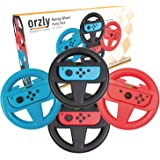 Orzly 任天堂 Switch Joy-Cons 的方向盘套装(请选择并添加到下面的购物车...。)ORZLYNSWI…