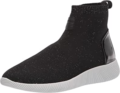 Rockport Women's CL Robyne Bootie Ankle Boot, Black, 6 W US