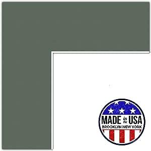 定制垫 橄榄色 19x36 MAT-202-19x36-Forest Green