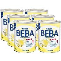 Nestlé BEBA 雀巢贝巴 Junior 1,1+段婴儿奶粉,适合1岁起幼儿,6罐装 (6 x 800g)