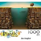 拼图-想象力系列 - 愤怒- IG-0516 拼图1000 块,适用于成人娱乐塑料拼图玩具