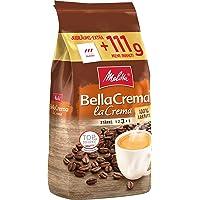 Melitta Ganze Kaffeebohnen, * Arabica, vollmundig und ausgewogen, Stärke 3, BellaCrema Lacrema, 1111g