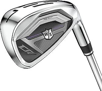 Wilson 女式 WS D7 女士 RH 7-PW,SW 优质铁杆,多色,LRH
