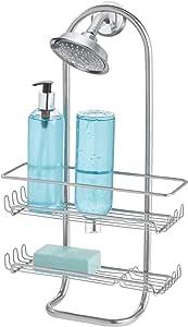 InterDesign Classico Jumbo Shower Caddy 银色