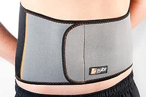 Laubr 运动健身臀部袖口,白色/橙色,L