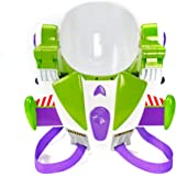 玩具总动员 Disney/Pixar 4 巴斯光年玩具宇航员头盔,适用于角色扮演电影动作,带喷气背包、灯光、真实的短语和…