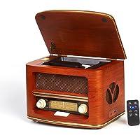 CAMRY CR 1109复古收音机 LW/FM 带 CD / mp3播放器和 USB 端口棕色