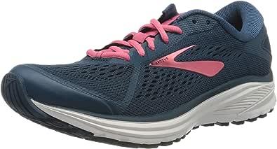 Brooks 女士 Aduro 6 跑步鞋 Majolica Pink White 8 UK