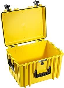 B&W 户外工具箱 黄色