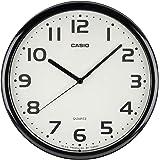 CASIO 卡西欧 挂钟 模拟 MQ-24 设计 IQ-24 黑色 直径25cm IQ-24-1JF
