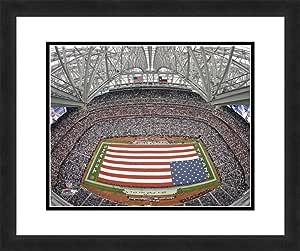 NFL Houston Texans Reliant Stadium,精美镶框和双哑光,45.72 cm x 55.88 cm 运动照片