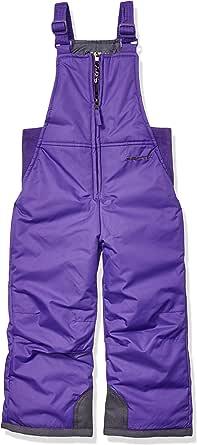 Arctix 婴儿/幼儿胸前高雪围兜连体衣 5岁 紫色 1575-18-5T -69-5T
