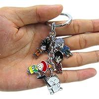 动漫卡通龙珠 Z 钥匙链金属人物吊坠钥匙链 小号 W