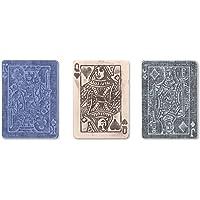 Sizzix 657194 Texture Trades Embossing Folders,Poker Face Se…