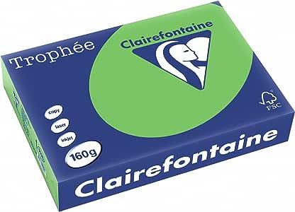 Clairefontaine Trophee Paper 薄荷/1025 °C DIN A4 minze/maigrün 160 g/m2 250 包