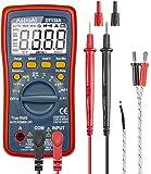 AstroAI 数字万用表,TRMS 4000 次伏特表(手动和自动测距);测量电压测试仪、电流、阻力、连续、频率;测试…
