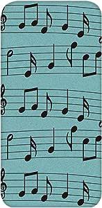 智能手机壳 TPU 印刷 对应多种机型 cw-651top 套 音符 音符标志 音乐 UV印刷 软壳WN-PR436438 Galaxy S6 SC-05G B款