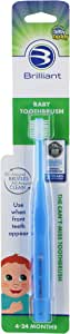 Baby Buddy 360 Toothbrush Step 1, Blue