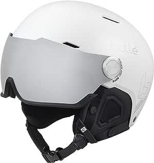 Bollé Might 遮阳板滑雪头盔白色男女通用成人 55-59 厘米