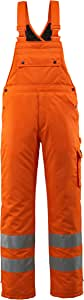 """Mascot 00592-880-14-4XL""""Lech"""" 冬季围嘴和护踝,橙色,4XL 码"""