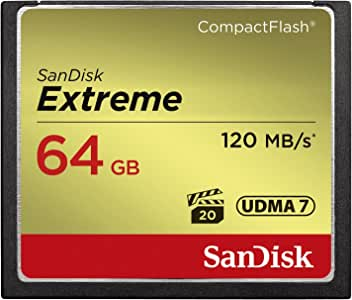SanDisk 闪迪 Extreme 120MB/s UDMA 7 袖珍闪存卡 存储卡 - Parent AsinSDCFXS-064G-FFP 64GB