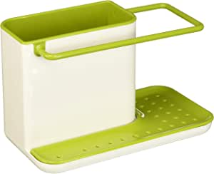 Joseph Joseph 85021 厨房水槽收纳架 海绵架 安全适用于洗碗机,常规,绿色