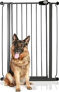 Bettacare 儿童宠物门 75 厘米 – 147.5 厘米 石板灰 75cm - 83cm