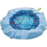 EverEarth E Lite 防水沙滩毯 & Kiddie 泳池,蓝色