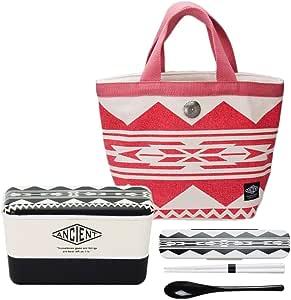 ANCIENT 长角午餐 城市 黑色 午餐包&餐盒套装 红色×黑色 450ml 297364