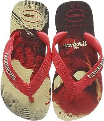 Havaianas 图案夹趾运动员女孩/男孩* Marvel