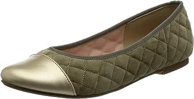 [NUVELOVOREE] 平底鞋 绗缝平底鞋 16-3487