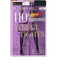 ATSUGI 厚木 110D光发热连裤袜(2双组)黑色M-L (亚马逊自营 保税区发货)