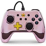 PowerA Nintendo Switch 有线控制器加强版 Chrome Princess Peach