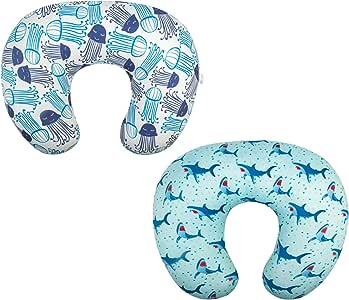 ALVABY 弹性枕头套柔软舒适2件装哺乳枕套适用于婴儿哺乳枕2ET02