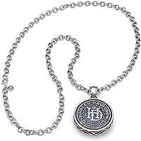 Harley-Davidson 男士 H-D 标志吊坠项链