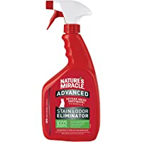 Nature's Miracle Advance Cat Stain and Odor Eliminator Gallon 12/32 oz