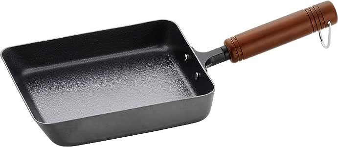 和平 FREIZ 煎锅 煎蛋 玉子烧 14×18cm 支持IH 氮化铁 日本制造 燕三 EM-005