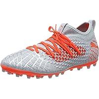 Puma 男式 Future 4.3 Netfit Mg 足球靴