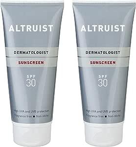 Altruist Dermatologist 防晒霜