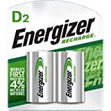 Energizer Recharge D Batteries 2 Pack