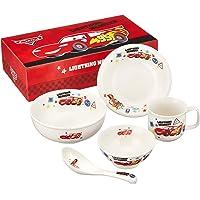 金正陶器 儿童餐具套装 白色 套装盒 迪斯尼皮克斯「赛车总动员」朋友 儿童餐具套装 707738