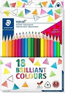 Staedtler Ergosoft 157 C18P1 彩色铅笔