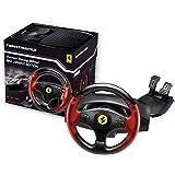 Thrustmaster 法拉利赛车轮红色传奇版(方向盘包括2 踏板套装,PS3 / PC)