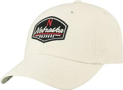 Top of the World Nebraska Cornhuskers 官方 NCAA 可调节帽檐 455433