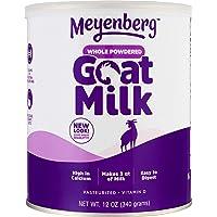 Meyenberg 全脂山羊奶粉,无麸质,维生素D (12盎司/340g)